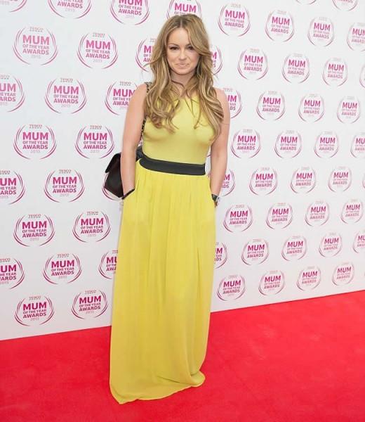 Ola Jordan in Yellow Dress Picture