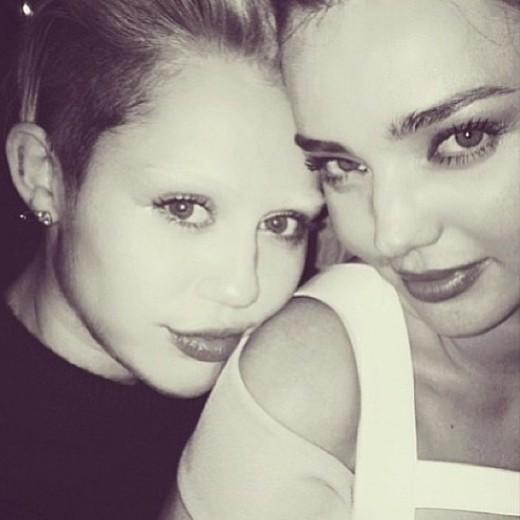 à la Miley Cyrus