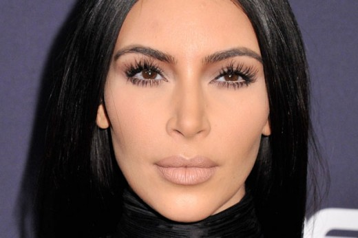 Kim Kardashian Bet Awards 2015 Spider Lashes