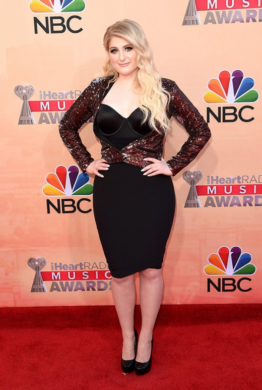 Meghan Trainor iheartradio Music Awards 2015