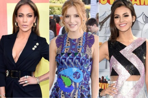 Jennifer Lopez Bella Thorne Victoria Justice
