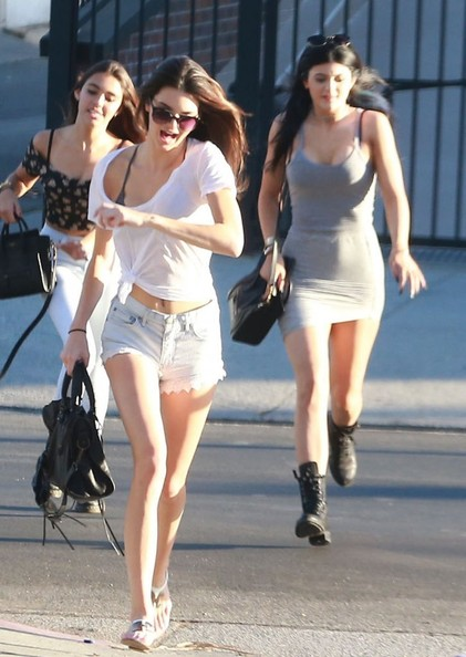 Kylie Jenner and Kylie Jenner Out Shopping