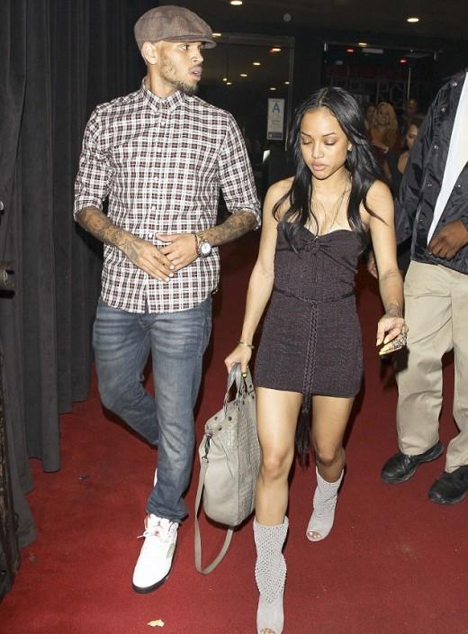 Karrueche Tran and Chris-Brown Image