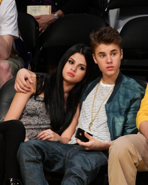 Selena Gomez and Justin Bieber Images