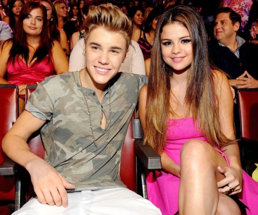 Selena Gomez and Justin Bieber Nice pic
