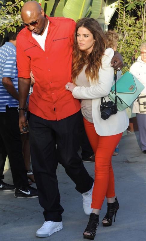 Khloe Kardashian Lamar Odom Image