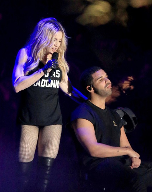 Madonna Drake Make Out Coachella Performance images