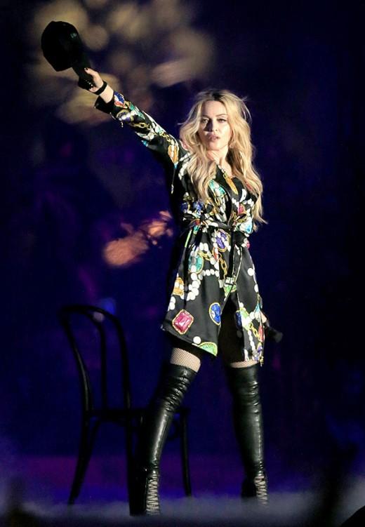 Madonna Drake Make Out Coachella Performance