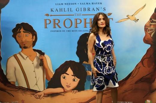 Salma Hayek for The Prophet