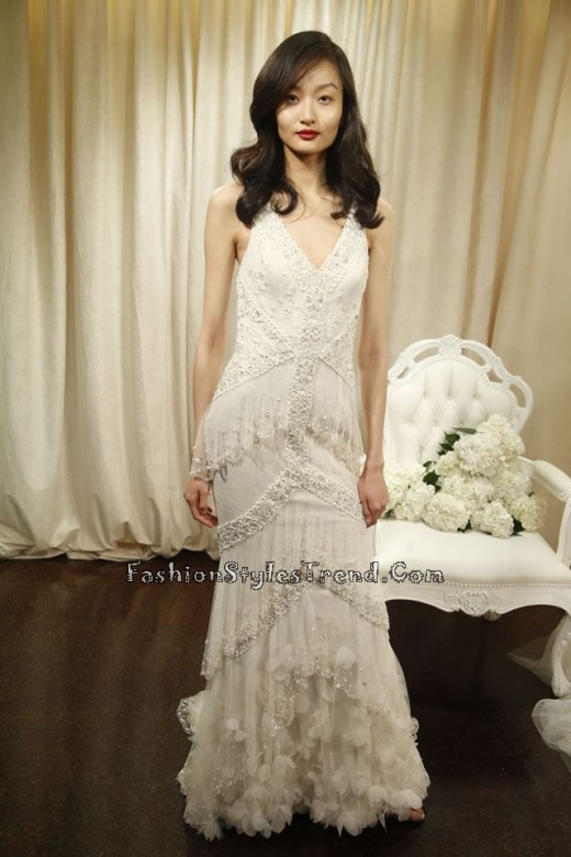 Badgley Mischka Bridal Spring 2016 (3)