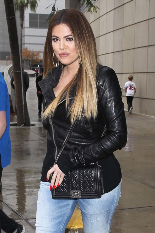 Khloe Kardashian le 10 Janvier 2015