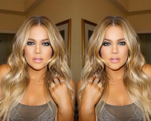 Khloe Kardashian Beauty Instagram Get Look