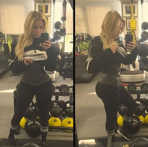 Khloe Kardashian Waist Trainer