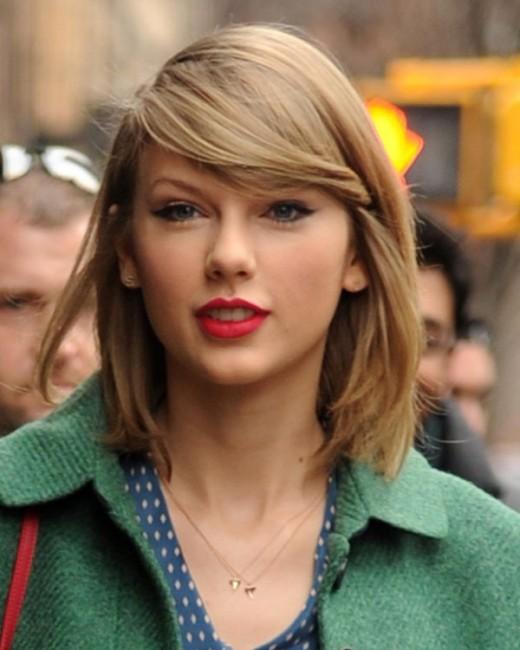 Taylor Swift Letter Earrings Fashion