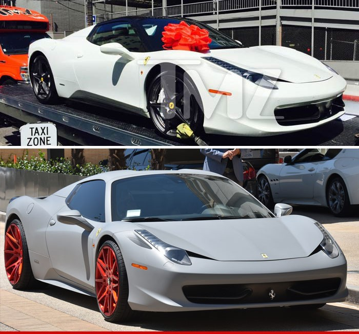Kylie Jenner-Thanks Tyga for the Ferrari