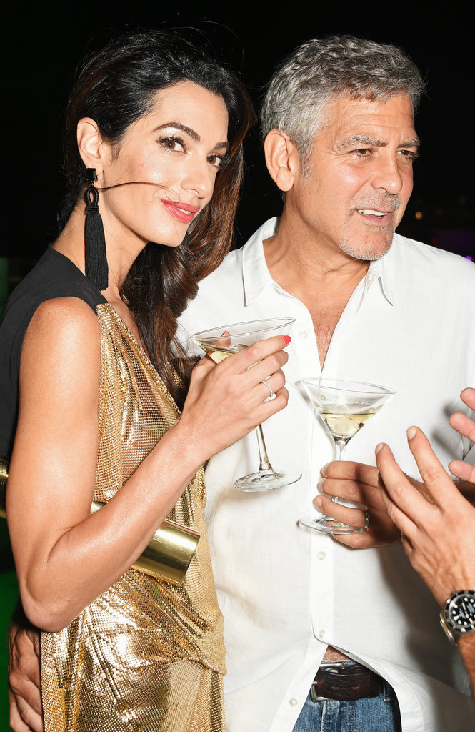 Amal Clooney Sexiest Dress Ever
