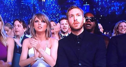 Calvin Harris and Taylor Swift Photos