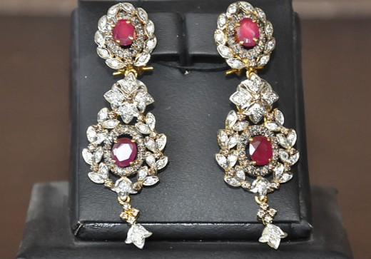 Red-Silver-Plated-Cubic-Zircona-Earnings