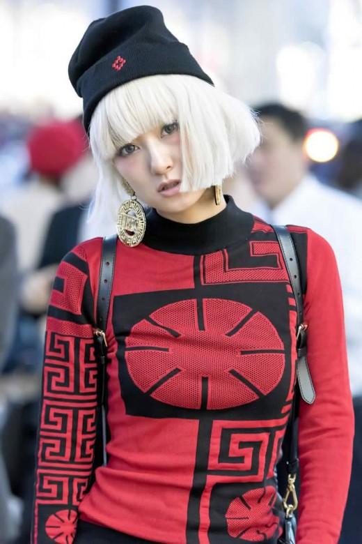 Tokyo Fashion week Street Style 09