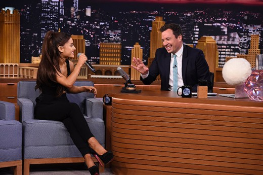 Ariana Grande At Jimmy Fallon