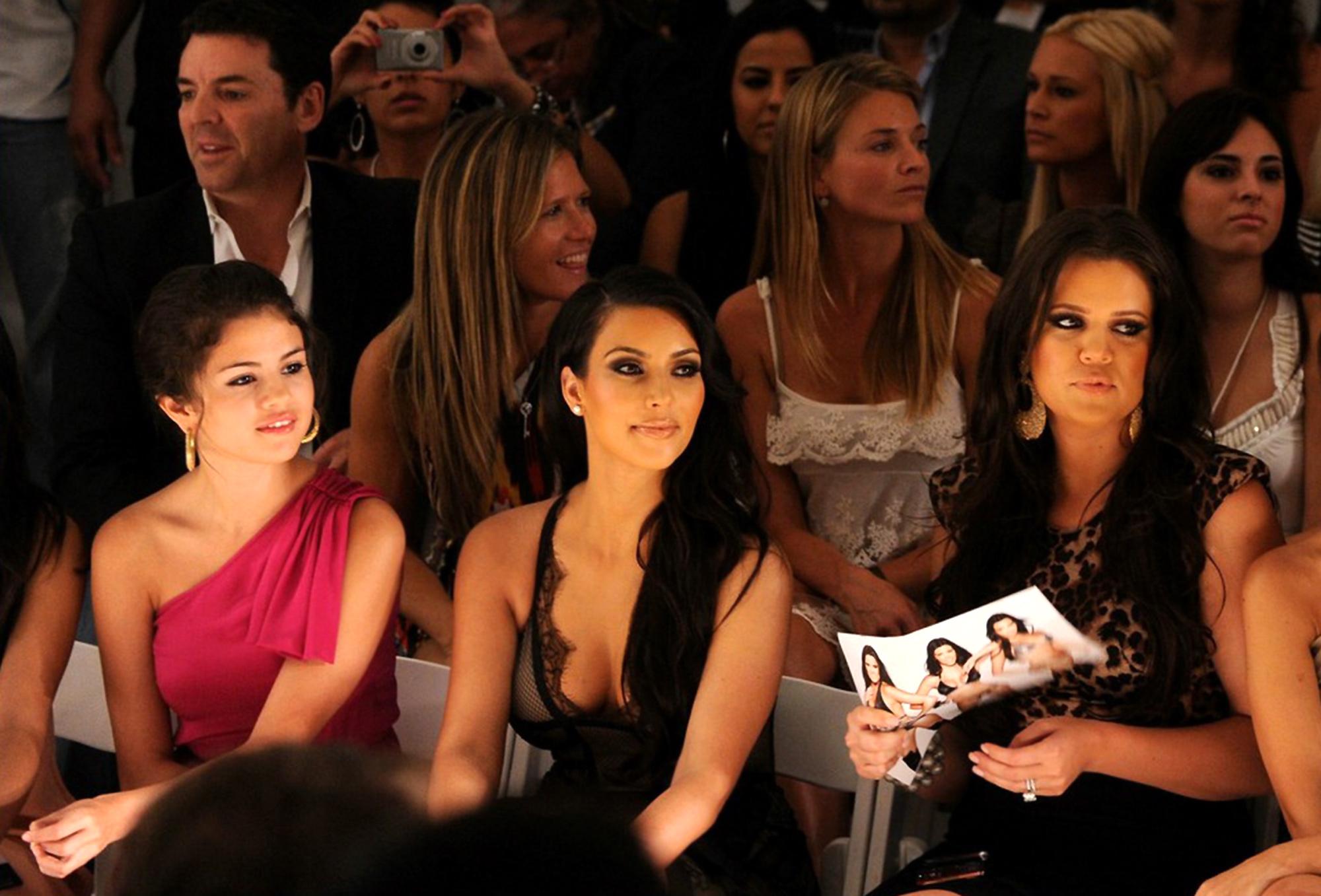 Selena Gomez with Kardashians Pictures