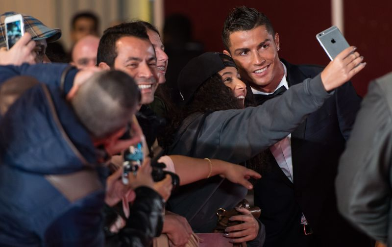 Cristiano Ronaldo London Movie Premiere Pictures 2015