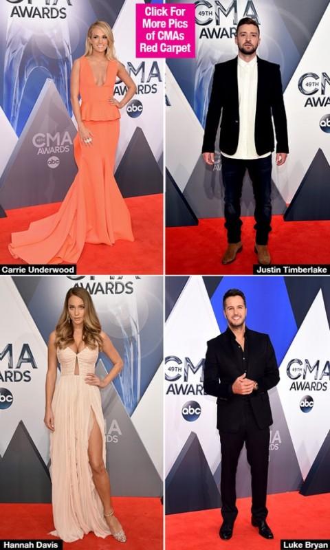 2015 CMA Awards Red Carpet