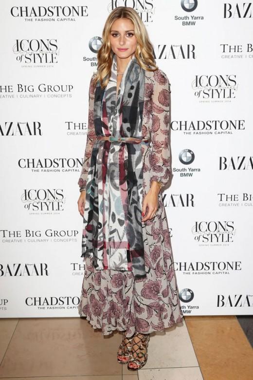 Olivia Palermos Burberry Dress