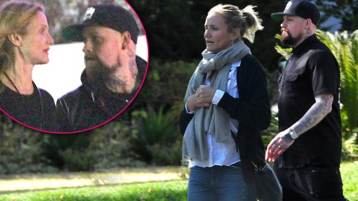 Cameron Diaz and Benji Madden - 8