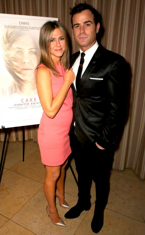 Jennifer Aniston and Justin Theroux - 3