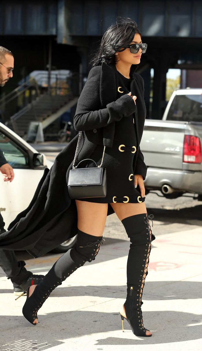 kylie jenner�s wardrobe collection fashion style trends 2019
