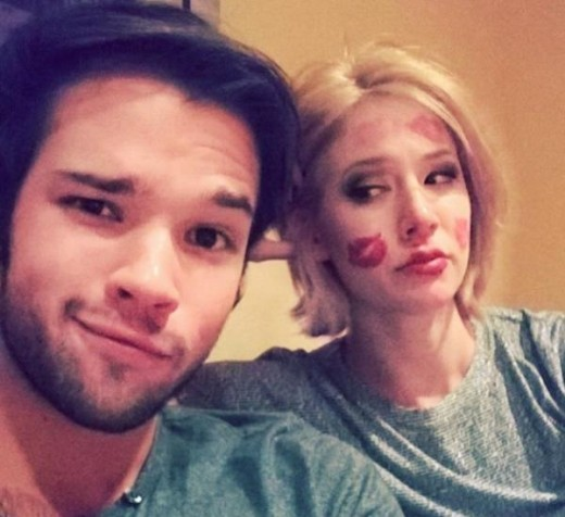 Nathan Kress London Elise Moore - 2