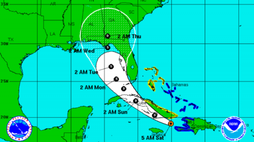 Tropical Storm Erika - 3