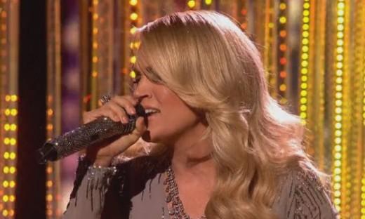 Carrie Underwood Sexy Look on 'X Factor' UK