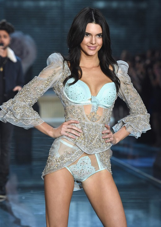 Kendall Jenner at Victoria's Secret Fashion Show