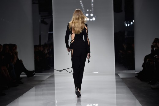 Gigi Hadid Hits the Runway
