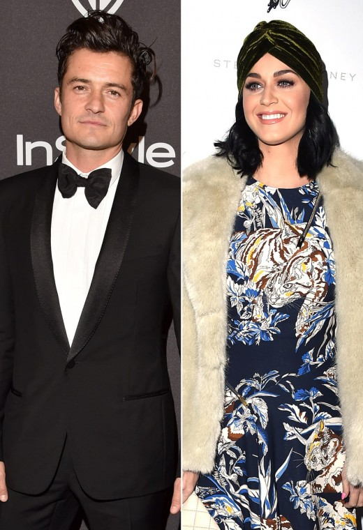 Katy Perry & Orlando Bloom
