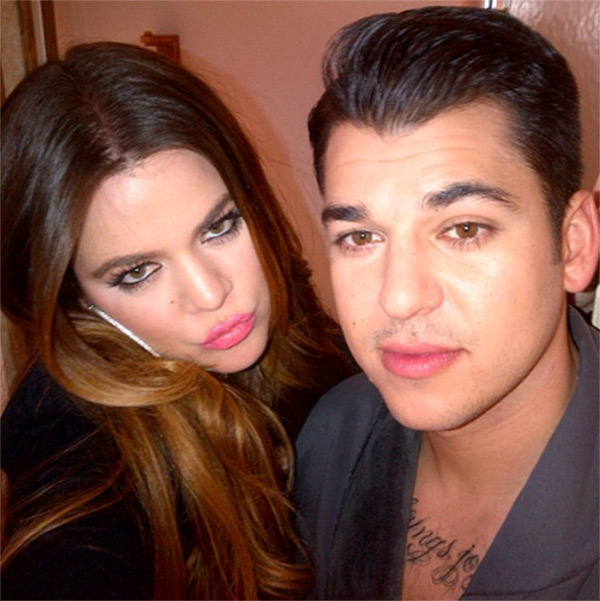 rob and khloe kardashian