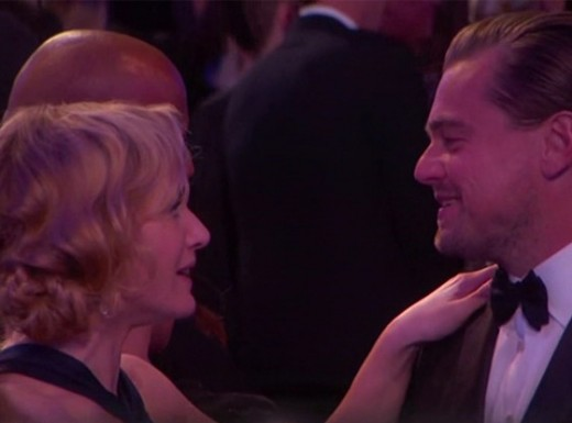 Leonardo DiCaprio & Kate Winslet at Golden Globes 2016