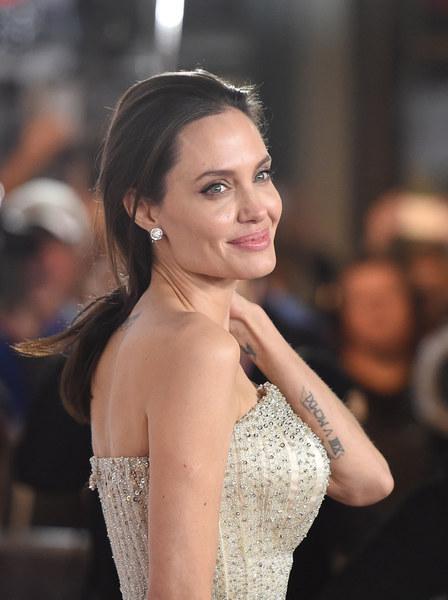 Angelina Jolie's Tattoos