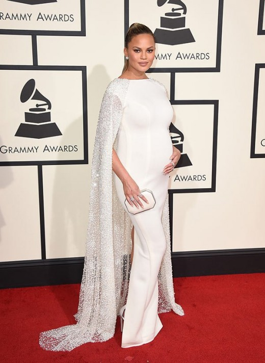 chrissy-teigen-grammys-2016-grammy-awards-best-dressed