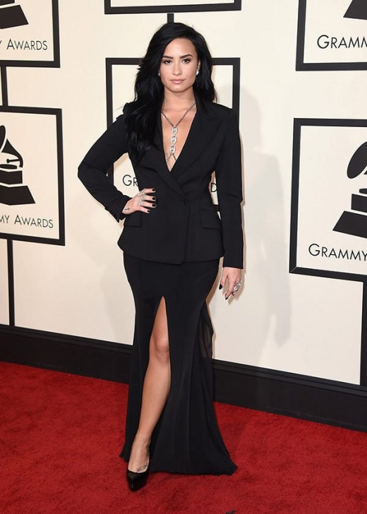 demi-lovato-grammys-2016-grammy-awards-best-dressed