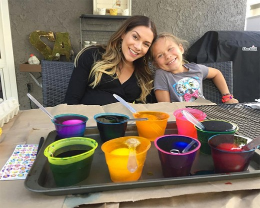 Lamar Odom Spends Easter With Khloe & Her Family