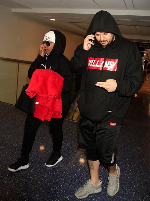 Blac Chyna and Rob Kardashian