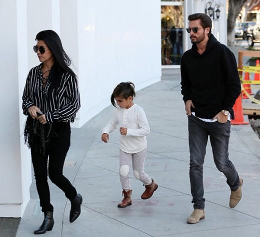 Kourtney Kardashian Gets Back with Scott Disick