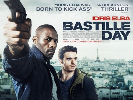 "Movie Trailer ""Bastille Day"""