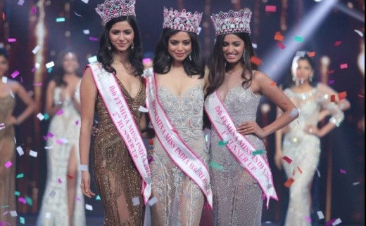 Priyadarshini Chatterjee Wins Femina Miss India 2016