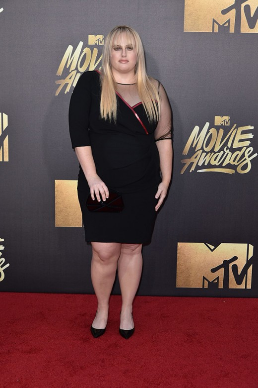 Rebel Wilson MTV Movie Awards Red Carpet Photos