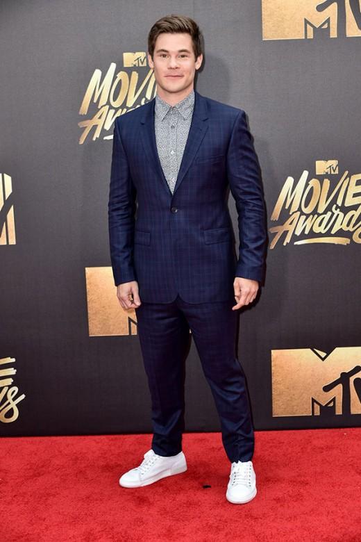 Adam Devin MTV Movie Awards Red Carpet Photos