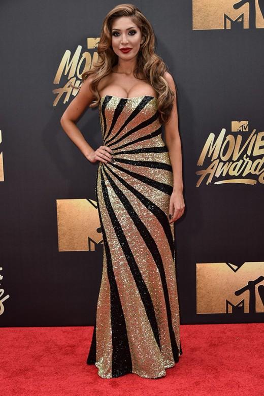 Farrah Abrahm MTV Movie Awards Red Carpet Photos